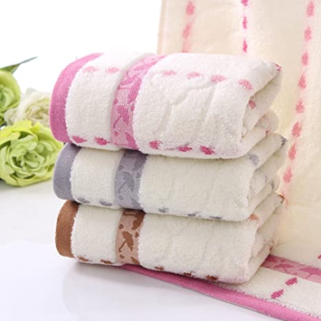 estwell – Juego de toallas de algodón Home toalla de mano para baño, Super suave