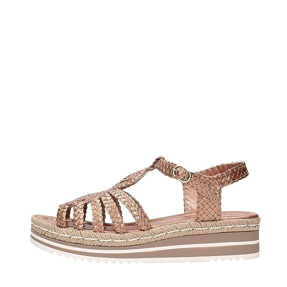 Pon´s Quintana 6807.000 Sandales Femme Le Cuivre Métallique Le Cuivre Métallique - Chaussures Sandale Femme