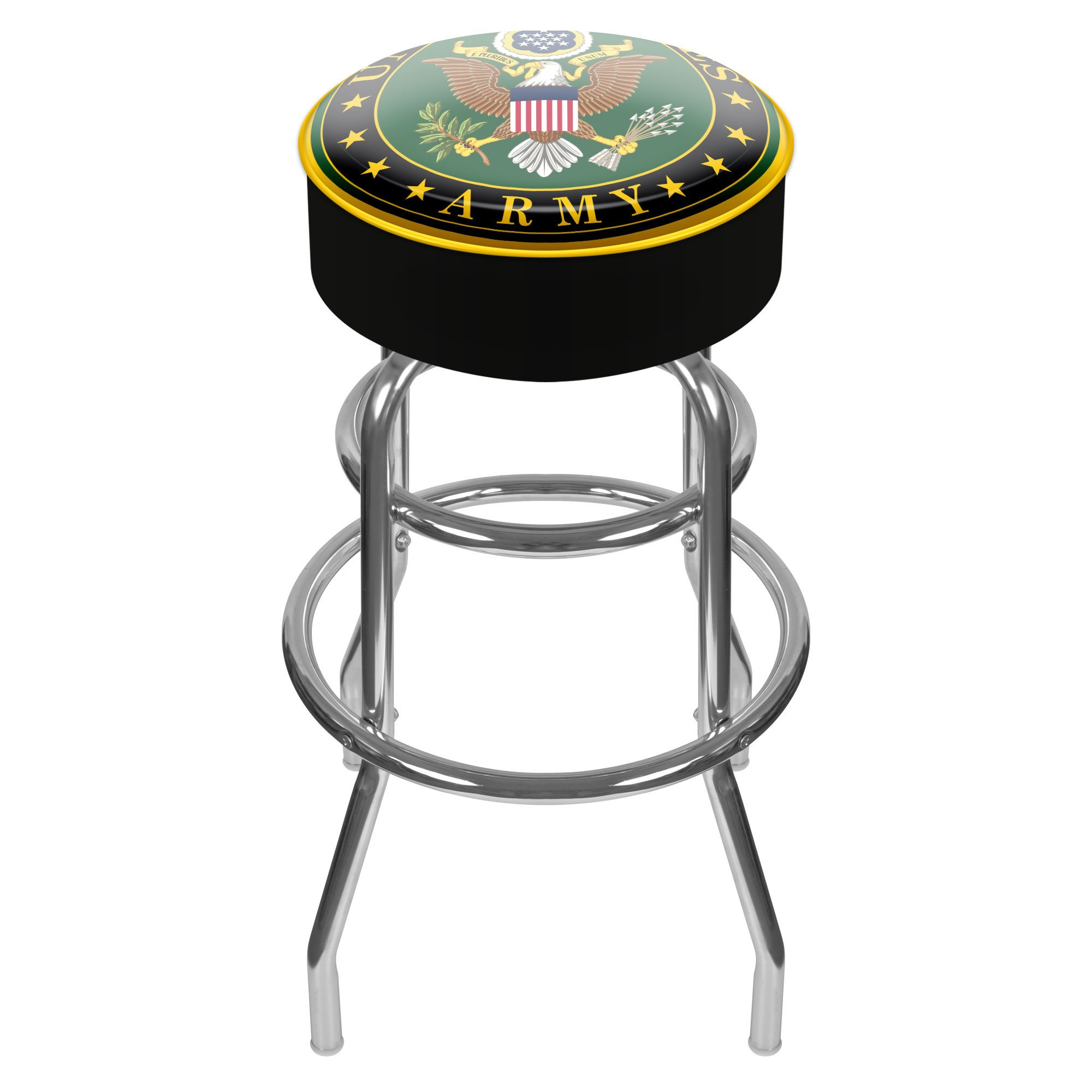 Trademark Gameroom United States Army Padded Swivel Bar Stool by Trademark Gameroom (Image #1)