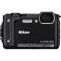 Nikon COOLPIX W300 BK HOLIDAY KIT Kompakt Kamera, Siyah, 3