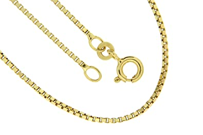 Bob C. Women's Curb Chain 8 carat (333) Yellow Gold ACVra