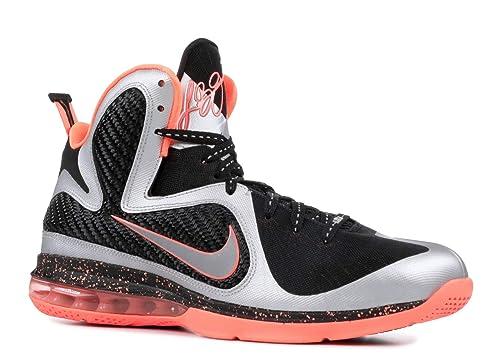 new product 062ef 678ea Nike Men s Lebron 9 469764 005 Metallic Silver Bright Mango Basketball Shoe   Amazon.ca  Shoes   Handbags