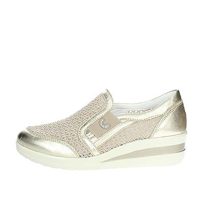 Cinzia Soft Slip-on Chaussures Femme Beige, 39