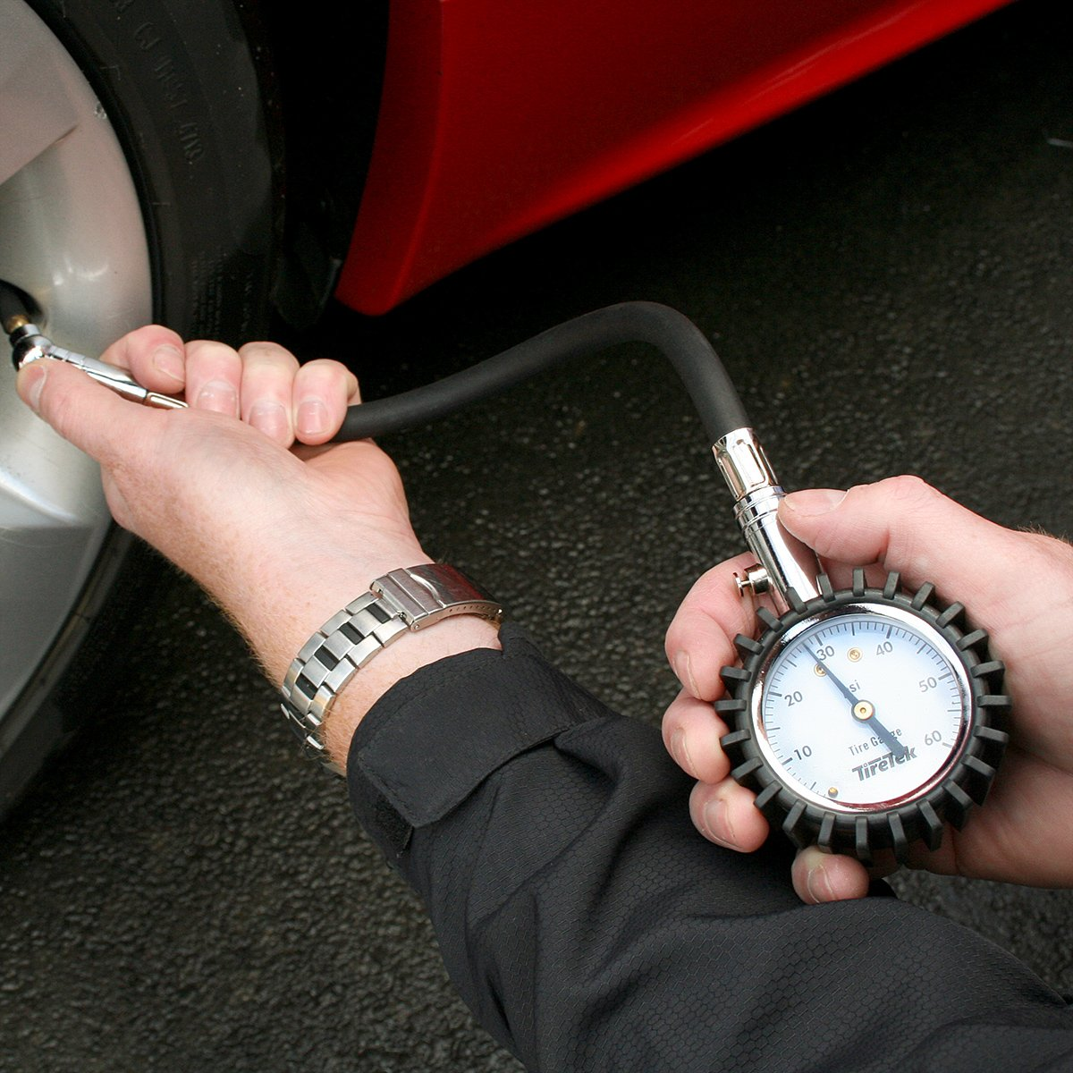 How to use normal pressure gauge