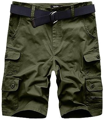 Wantdo Herren Shorts Baumwolle Combat Cargo Kurze Shorts  Amazon.de   Bekleidung f5dbb3d20e