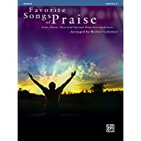 Favorite Songs of Praise (Solo-Duet-Trio with Optional Piano):