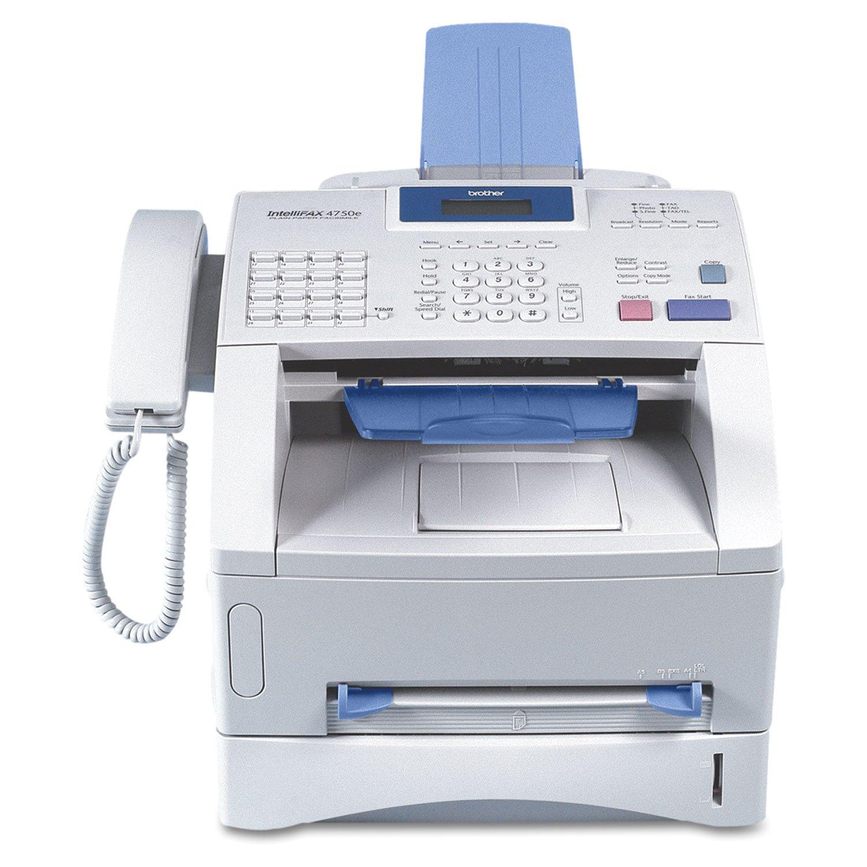 Brother IntelliFax 4750e High-Speed Business-Class Laser Fax/Copier/Telephone, EA - BRTPPF4750E