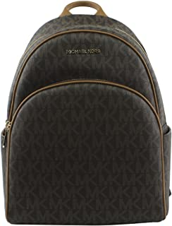 46f7037577fd1 Amazon.com  Michael Kors Abbey Medium Backpack Vanilla MK Signature ...