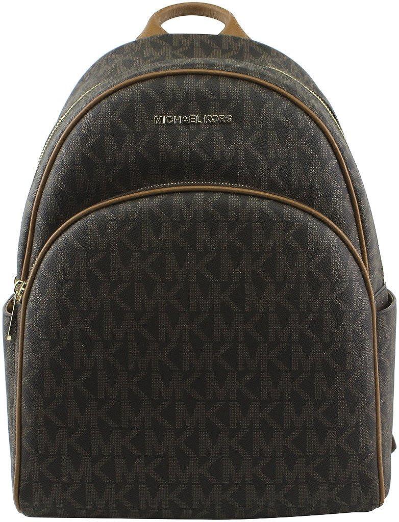 b1e2caf576ae Amazon.com  MICHAEL Michael Kors Abbey Jet Set Large Leather Backpack  (Black 2018)  Shoes