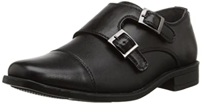 ce3c60ba42 Steve Madden Boys  CHAAZ - K Black 1 M US Little Kid