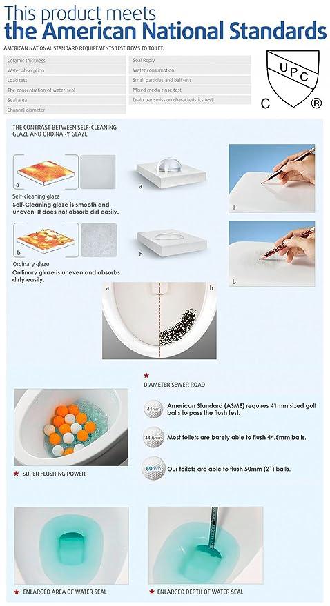 Tiny Bathroom Ideas Pos | Galba Small Toilet 24 5 Long X 13 5 Wide X 28 5 High Inch 1 Piece