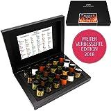 Hallingers Gewürz-Set - BBQ Deluxe 24 Männersache Advent 24x Miniglas in Box, 425 g
