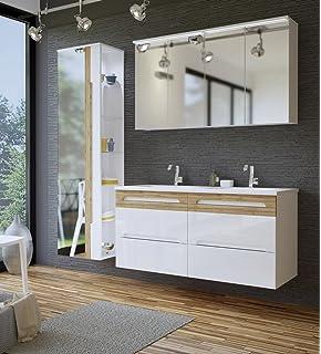 Sehr schönes Badezimmer Möbelset inkl. Waschtisch 100 mit ...