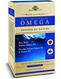 Solgar - Wild Alaskan Full Spectrum Omega Softgels 120 Count, supports eyes, joints, & brain function