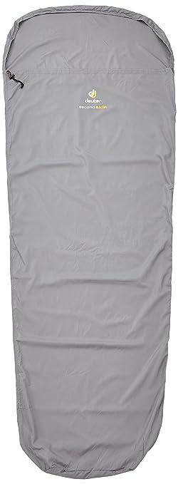 Deuter uni saco de dormir segunda piel, titanio, 220 x 80 x 60 cm, 37.142-4005: Amazon.es: Ropa y accesorios