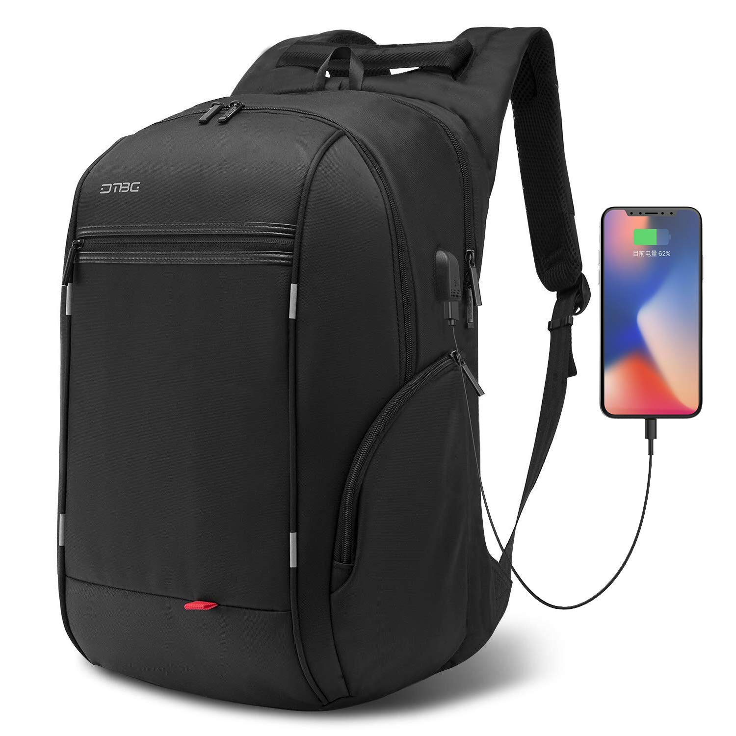Travel Laptop Backpack with USB Charging Port for Men Women Outdoor