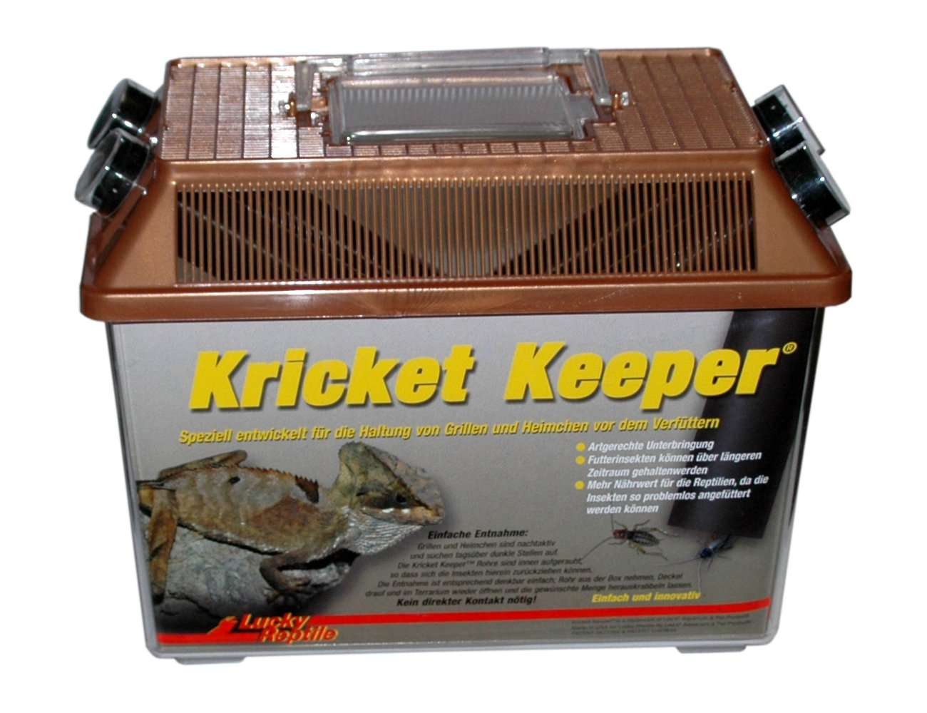 Lucky Reptile KK-1 Kricket Keeper, Terrarium zur Futtertierhaltung ELK001