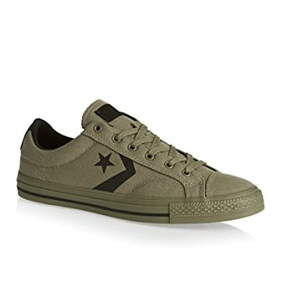 huge discount 9f3c6 69e4d Baskets Converse Star Player Canvas Ox Kaki Homme 40