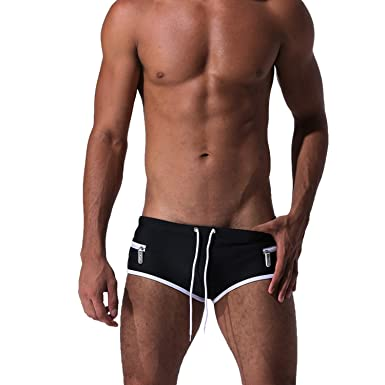 2a7322b7c789 Image Unavailable. Image not available for. Color: Men's Swim Trunks Sexy  Fashion ...
