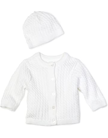 beb73011f7a0 Little Me Unisex-Baby Newborn Lovable Cable Sweater