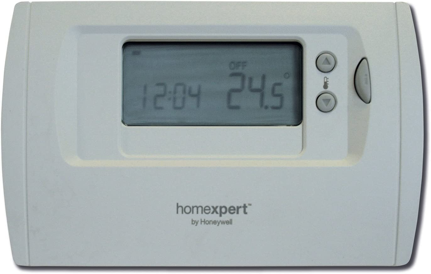 Honeywell Home THR870B Termostato programable - Homexpert by HONEYWELL, Crema, gris y negro