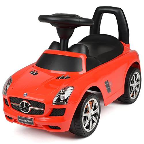 Children's Ride On SUV Car Toy Mercedes-Benz AMG SLS With Sound Effects