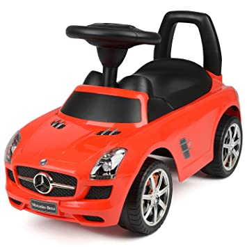 Childrenu0027s Ride On SUV Car Toy Mercedes Benz AMG SLS With Sound Effects