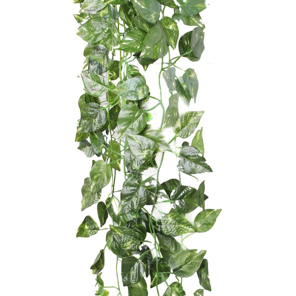 Amazon FACILLA 90cm Efeu Girlande Efeubusch Efeugirlande