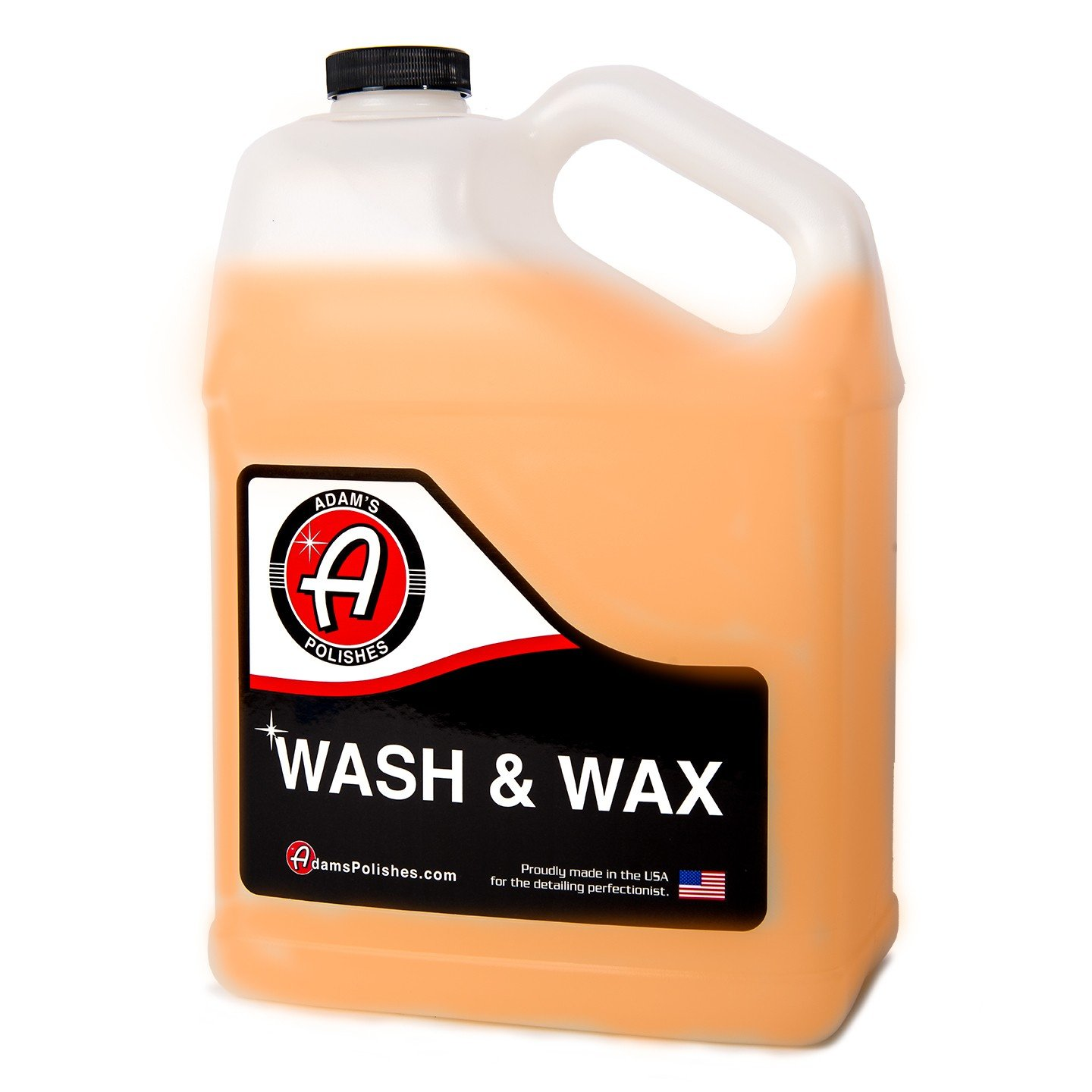 Adam's Wash & Wax - Concentrated, High Performance, pH Neutral Soap Blend That Lubricates, Shines, and Protects - Special Polymers Add a Just-Waxed, High Gloss Finish (1 Gallon)