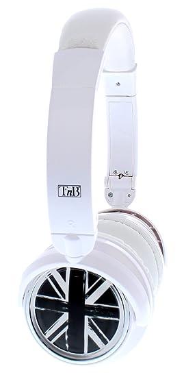 TnB CBLIVELDW - Cascos estéreo para teléfono móvil, color blanco