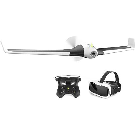 Parrot Disco FPV dron en Juego con skykontroller y Gafas Color ...