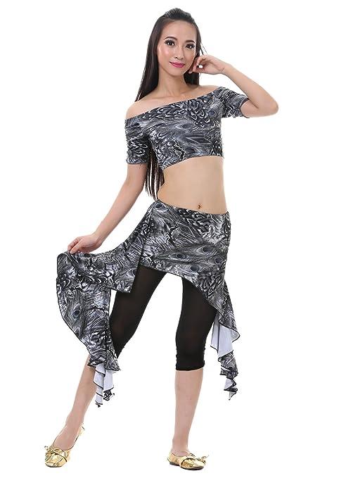Dance Fairy gris falda de tul juego del bellydance pavo de Navidad ...