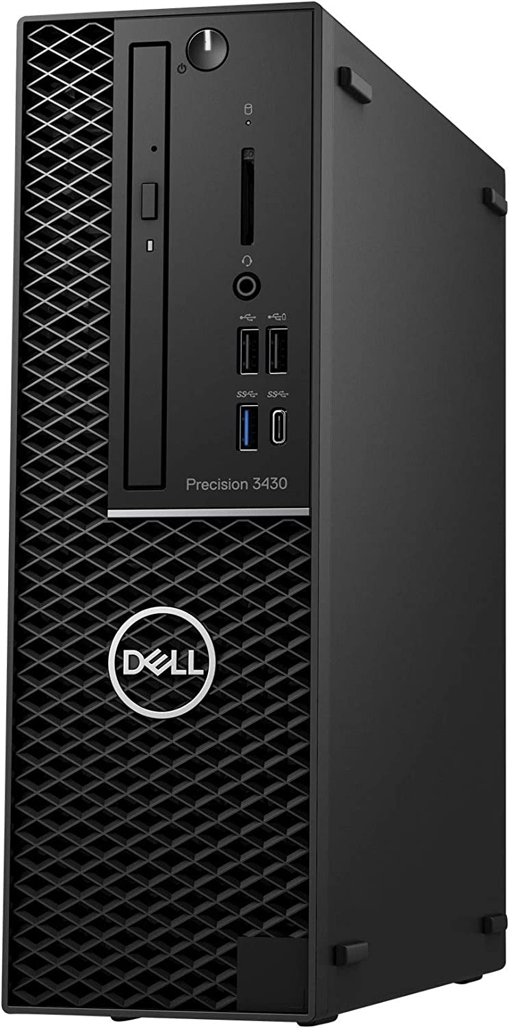 Dell Precision 3430 Desktop Workstation with Intel Core i3-8100 Quad-core 3.6 GHz, 16GB RAM, 500GB HDD