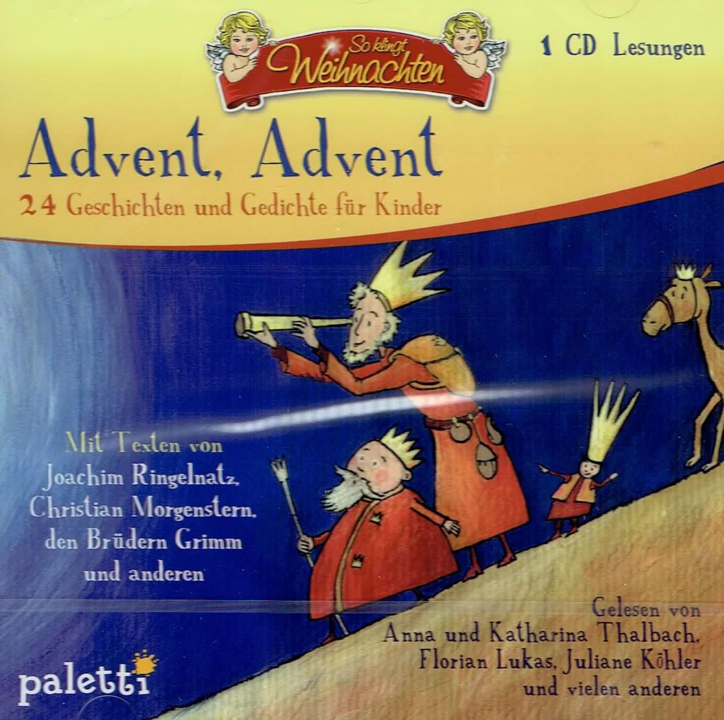 Advent Advent 24 Geschichten Und Gedichte Für Kinder So