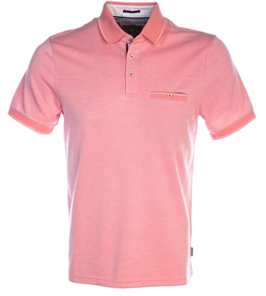 b04734a5a1cbfd Ted Baker Navy Soft Touch Polo Shirt  Amazon.co.uk  Clothing
