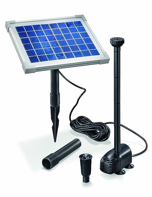 12 opinioni per Esotec- Set completo pompa solare per laghetti 5 watt, modulo solare, portata
