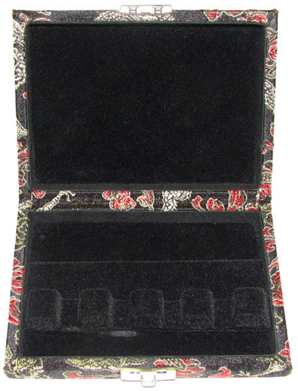 4-Reed Contra Bassoon Reed Case Silk (Black/Gold) by Oboes.ch (Image #2)