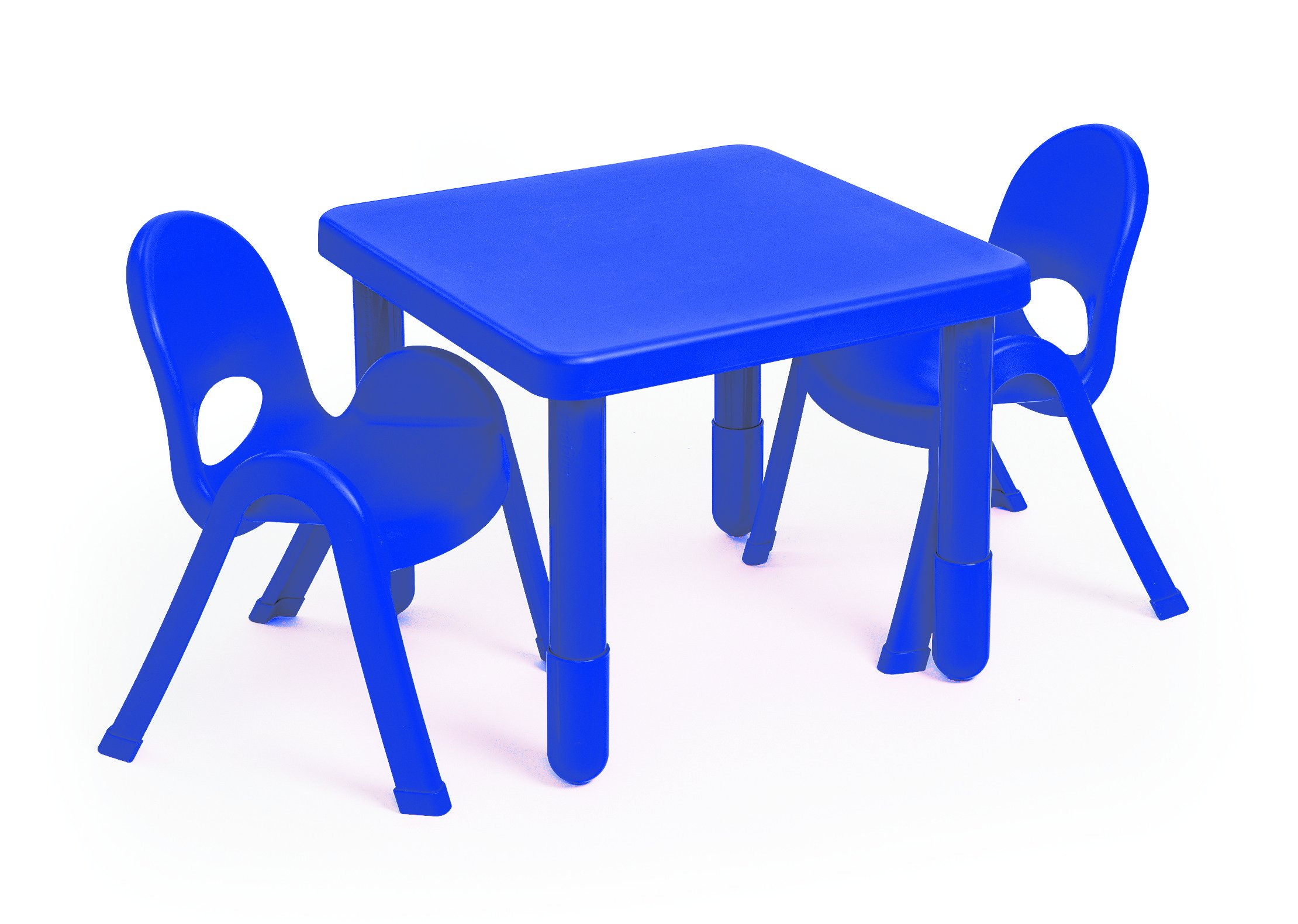 Angeles MyValue Royal Blue Table and Chair (Set of 2)