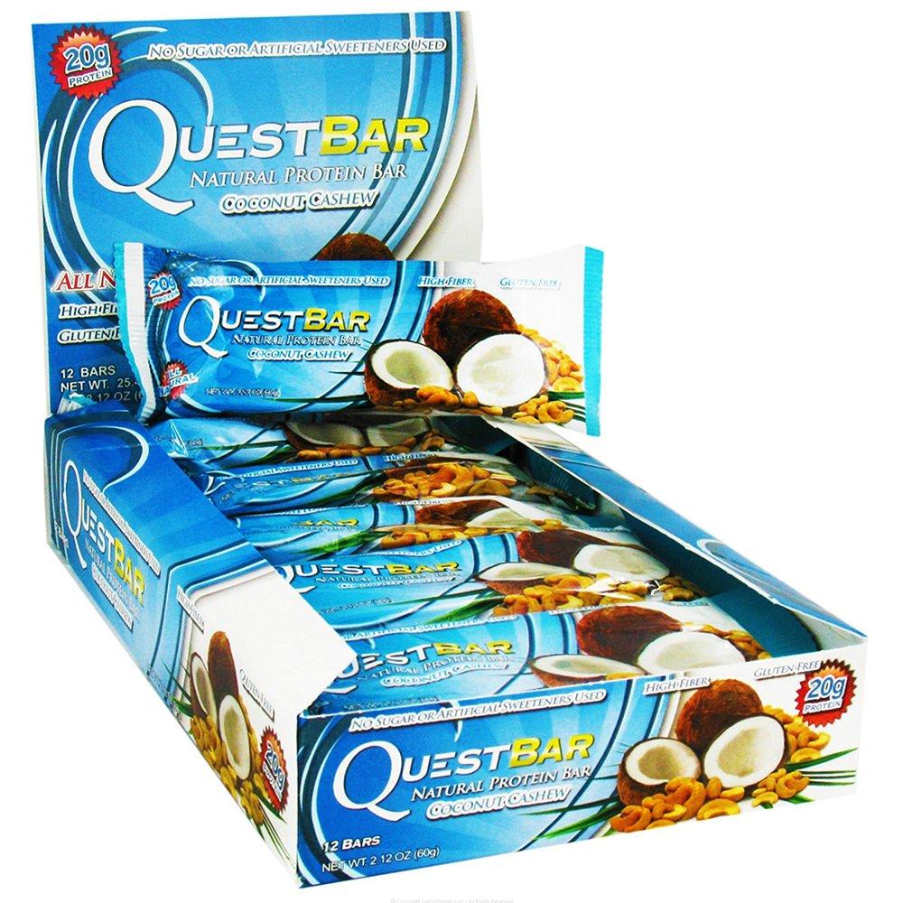 Quest Bars-Coconut Cashew 24 Bars