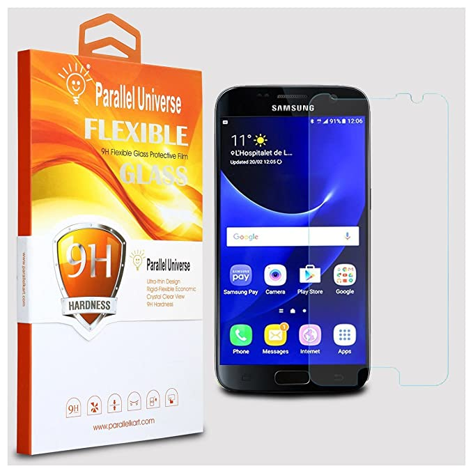 Parallel Universe Samsung Galaxy S7 Tempered Glass Screen Protector Unbreakable Flexible Screen Guard  Transparent