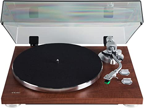 Amazon.com: TEAC TN350 Analog Turntable, Walnut: Electronics