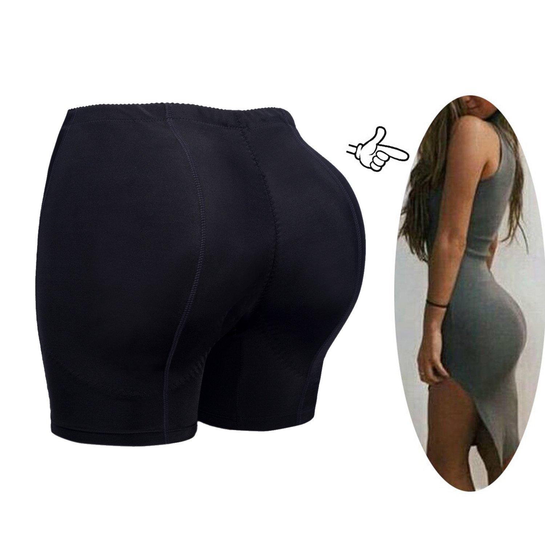 FLORATA Women Butt Booty Lifter Shaper Bum Lift Pants Buttocks Enhancer Boyshorts Briefs