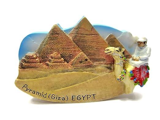 Imanes de nevera recuerdos pirámides de Giza Egipto hecho a mano ...