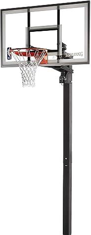 Spalding NBA Aluminum Trim Glass Backboard  In-Ground Basketball System