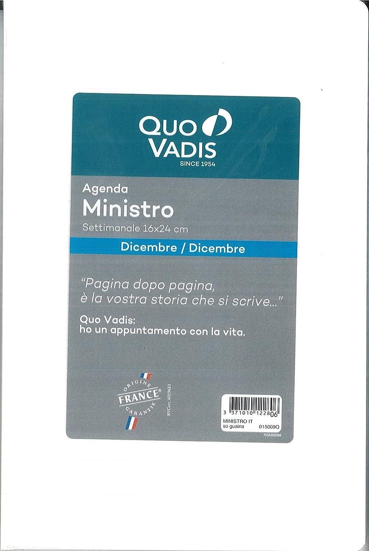 Recambio agenda Quo Vadis MINISTRO 2018,16 X 24 cm: Amazon ...