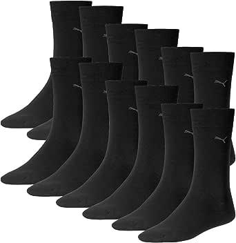 Puma Hombres Basic Classic Informal Calcetines Hombre para Cada Anlass. 6 Paar