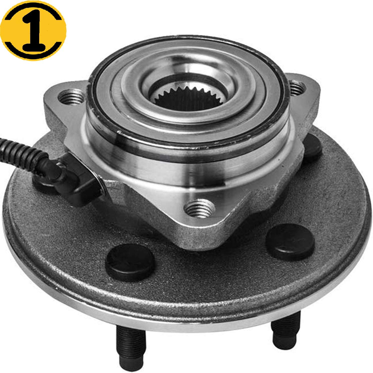 Front LH//RH Wheel Hub Bearing Assembly for Explorer Aviator Mountaineer 4WD//RWD