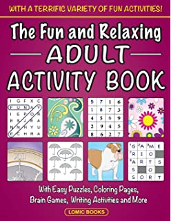 Light & Fun! Easy Puzzles and Brain Games: Includes Word
