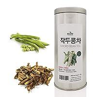 [Medicinal Korean Herb] Sword Bean Tea in a Gift Tin Caddy (Canavalia Gladiata/작두콩...