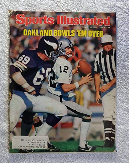 d8be798fc Ken Stabler (The Snake) - Oakland Raiders - Super Bowl XI Champions! -